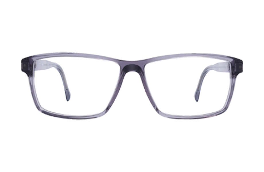 Lunettes de vue Bernd - SMOKE, Mykita, Rectangle , de couleur Gris Transparent.