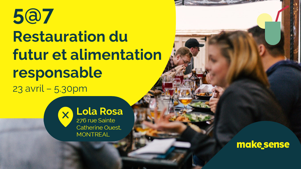Image of the event : Restauration du futur et alimentation responsable