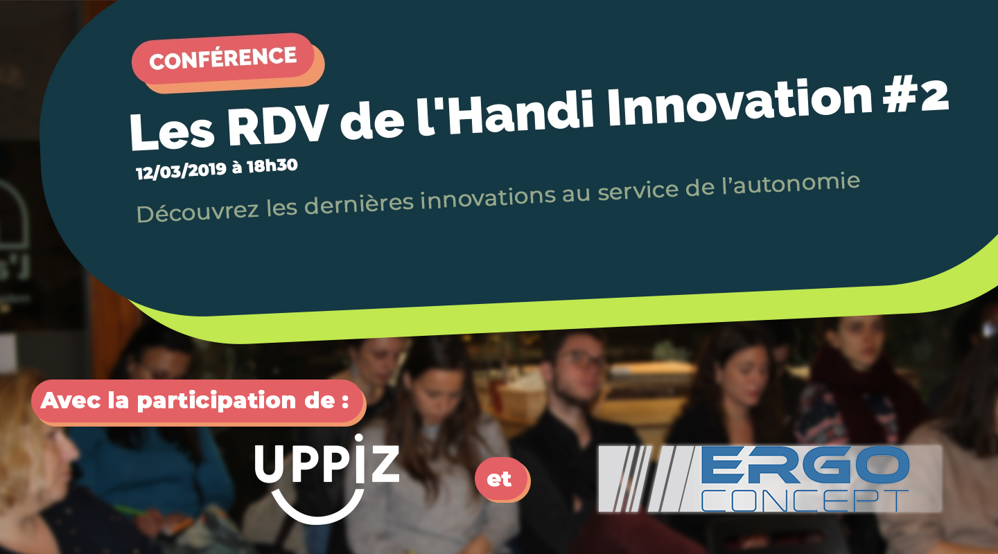 Image of the event : Les RDV de l'Handi Innovation #2