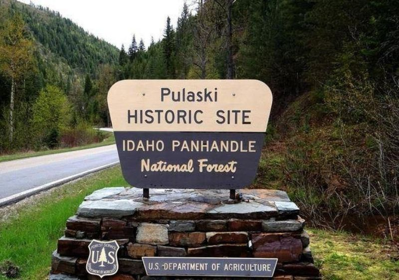 Idaho-Panhandle-National-Forest-sign