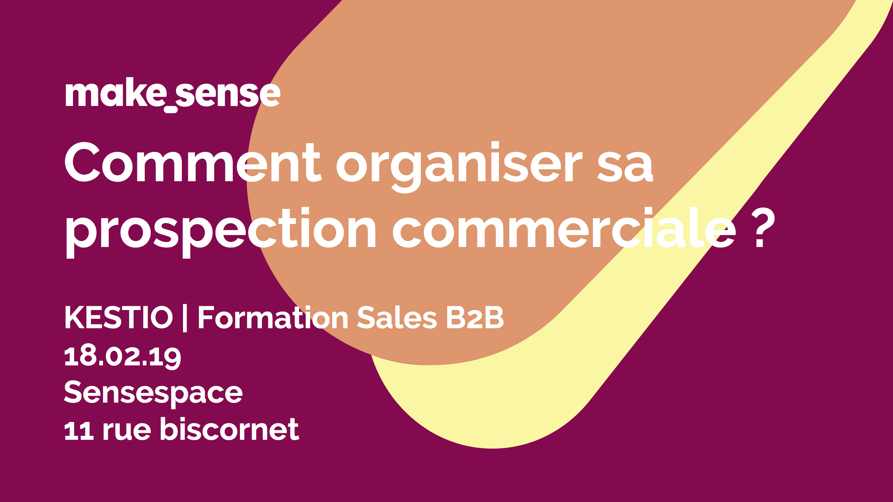 Image of the event : Formation - Comment organiser sa prospection commerciale ?