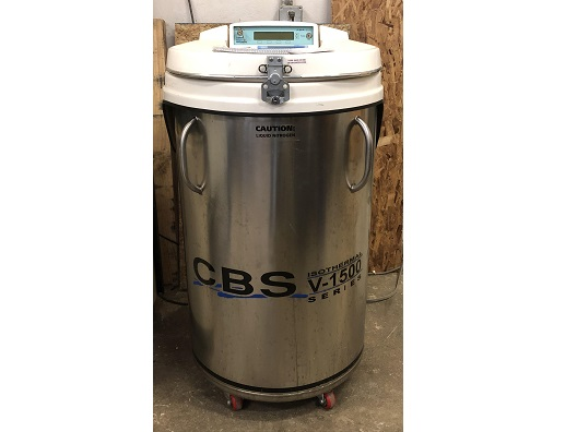 Custom Biogenic Systems ASC24T Liquid Nitrogen Storage
