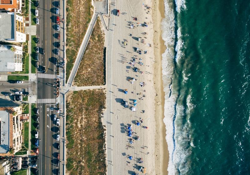 aerial-view-of-a-coastal-drive-in-California