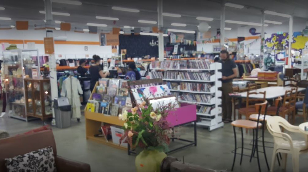 This is a photo of our BSL Op Shop in Moonee Ponds