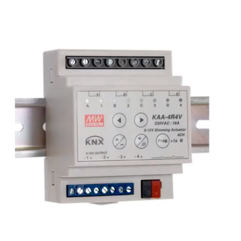 MEAN WELL KAA-4R4V KNX Dimming Actuator