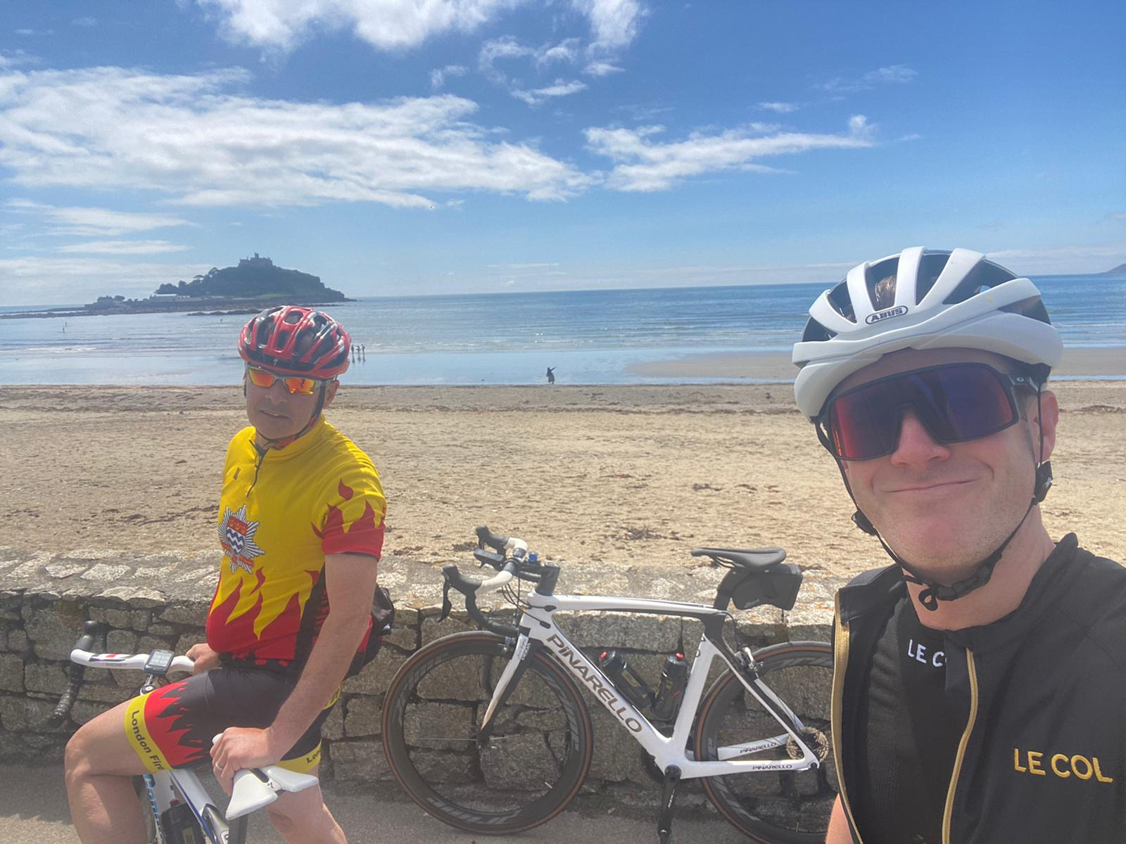 Day 1 - Lands End to Fowey