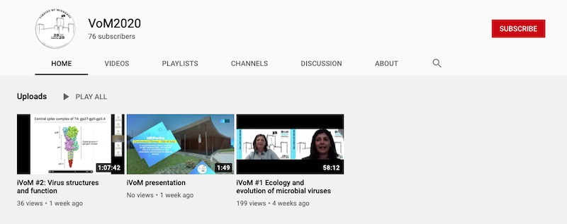 iVoM Youtube Channel Screenshot