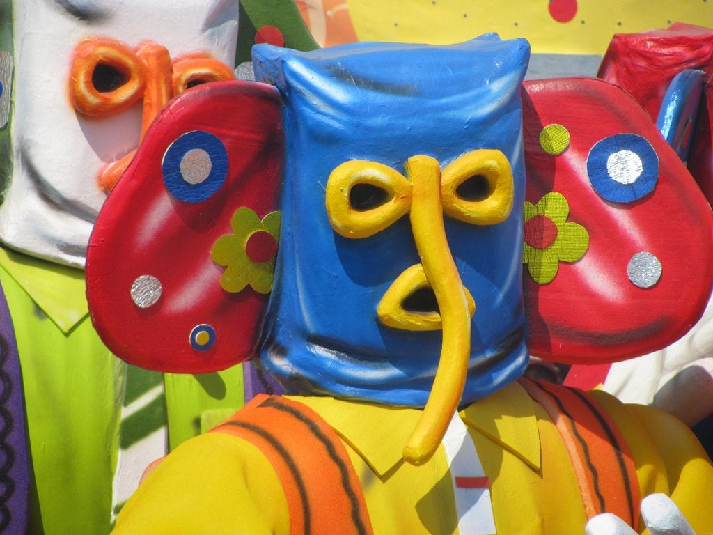The marimonda is the only Carnival character with origins in Barranquilla