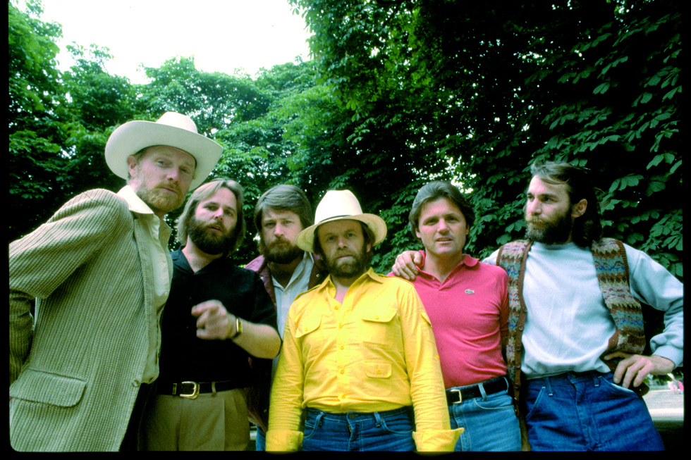 Les Beach Boys à Paris le 8 juin 1980.