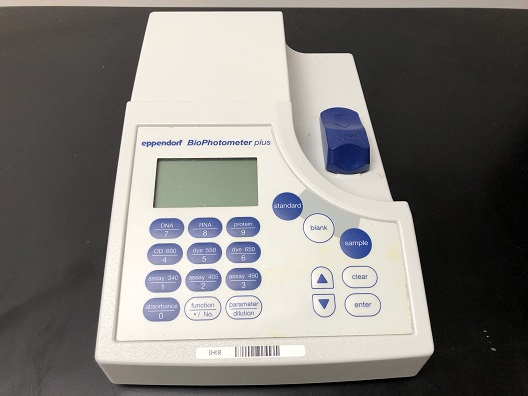 Eppendorf Biophotometer Spectrophotometer Visible/Absorbance Reader