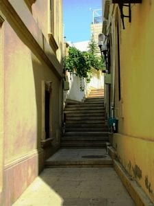 narrow streets of the Old City