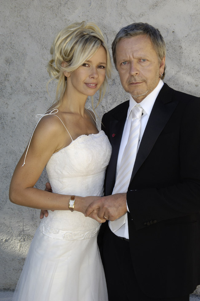 Renaud & Romane Serda's wedding (2005)