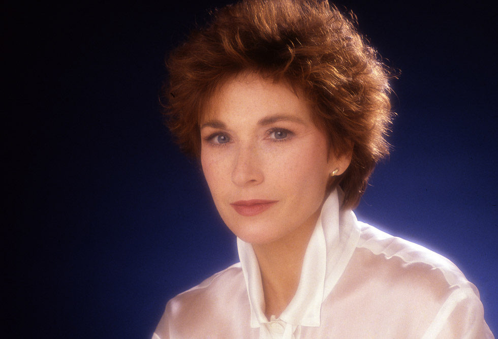 Marlène Jobert en photo studio le 17 novembre 1988.
