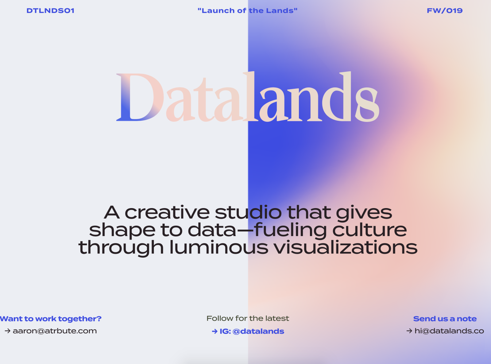 35 Blurry Gradients For Graphic Design Inspiration