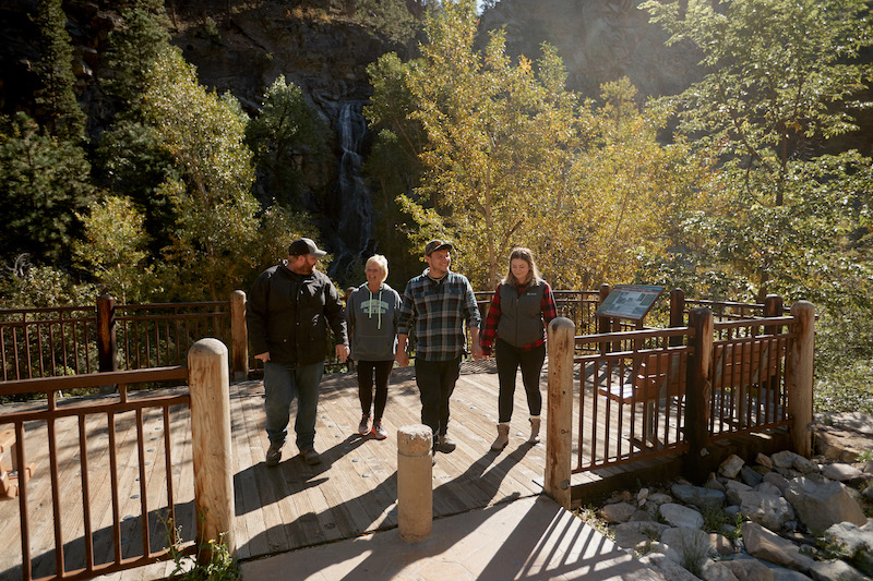 Guests-walking-away-from-waterfall