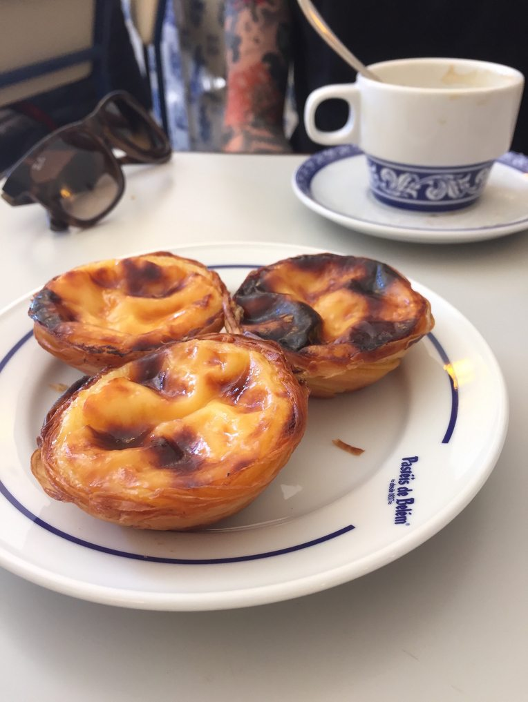 Pasteis de Belem in all their glory