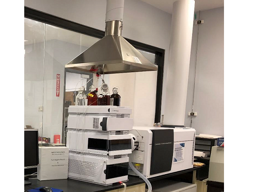Agilent 6540A LC/ MS Q-ToF System