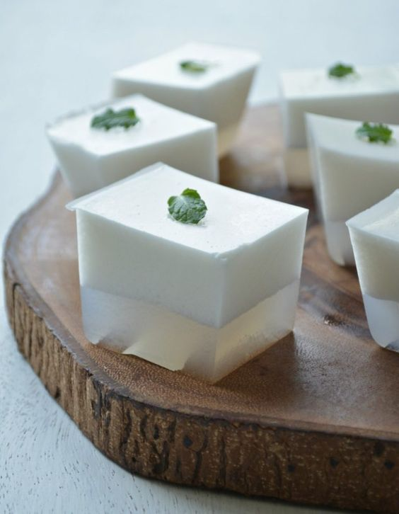 Fresh Coconut Jelly