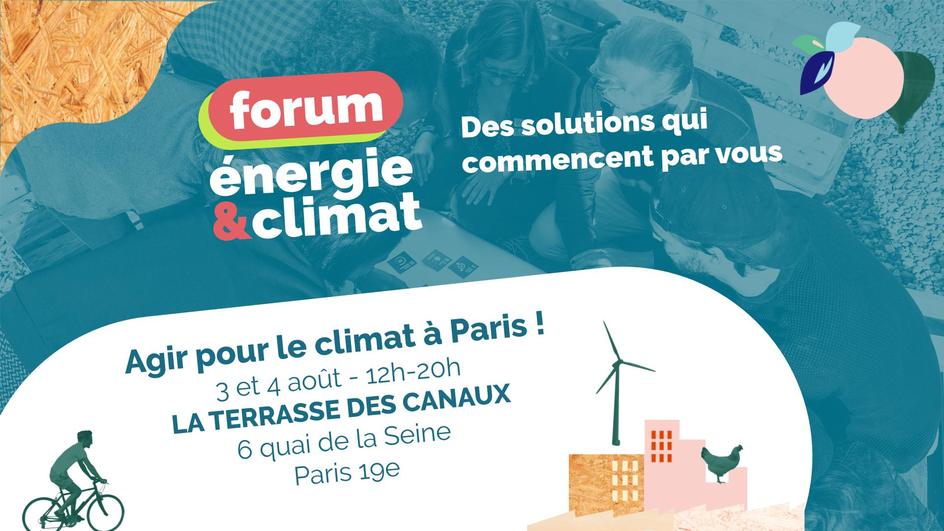 Image of the event : Week-end : Agir pour le climat à Paris