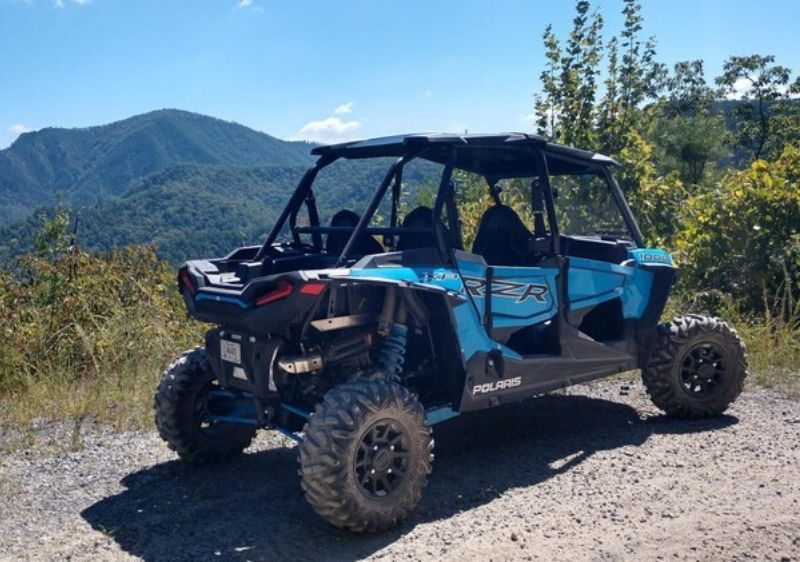 Polaris-RZR-parked-along-a-scenic-overlook-of-the-Smokies