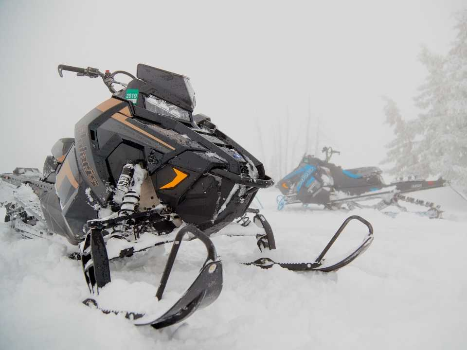 front end snowmobile