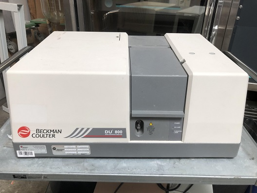 Beckman Coulter DU 800 Spectrophotometer UV/Vis Reader