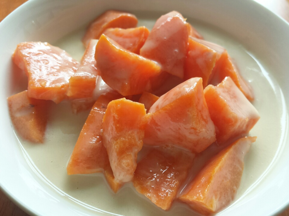 Sweet Potato in Coconut Milk