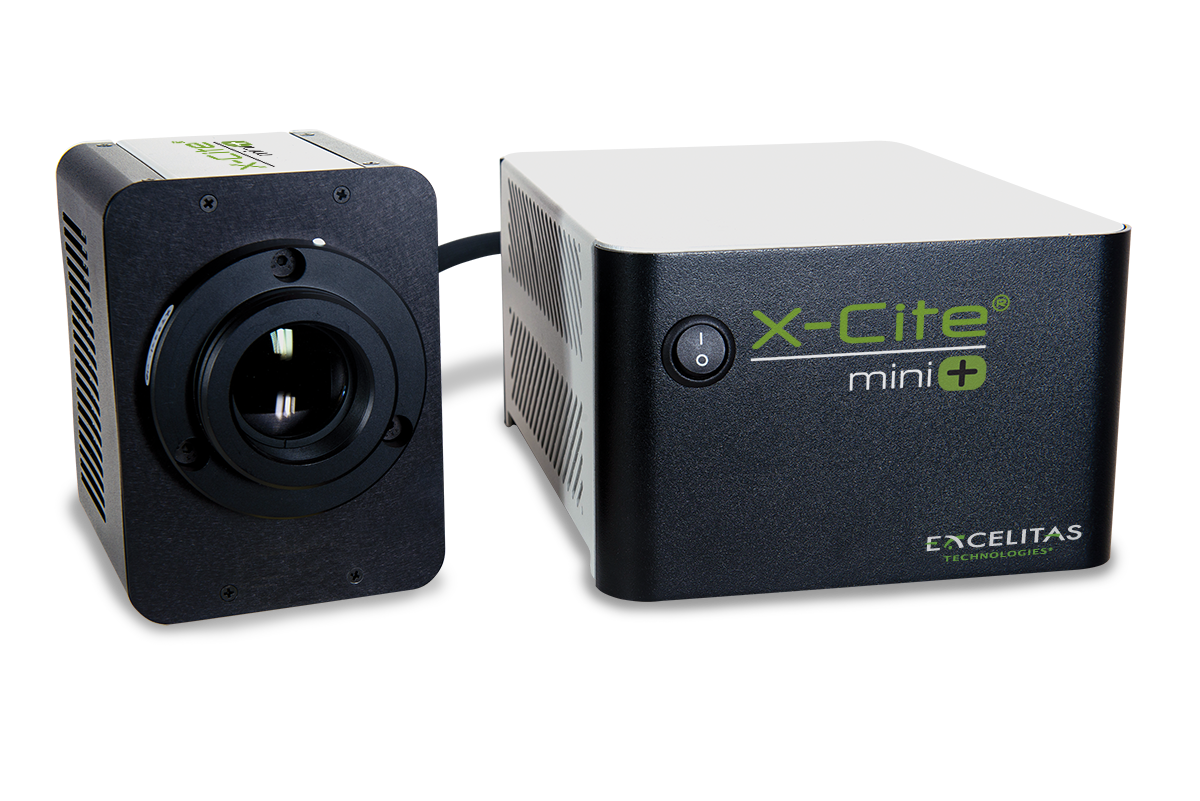 Excelitas X-Cite mini+ Microscope LED Fluorescence Light Source