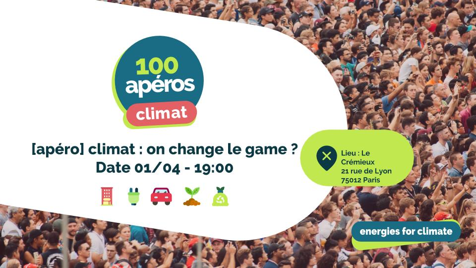 Image of the event : climat : on change le game ?