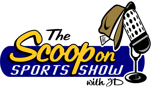 The Scoop on Sports Show with JD logo