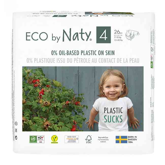Couches jetables Eco by Naty