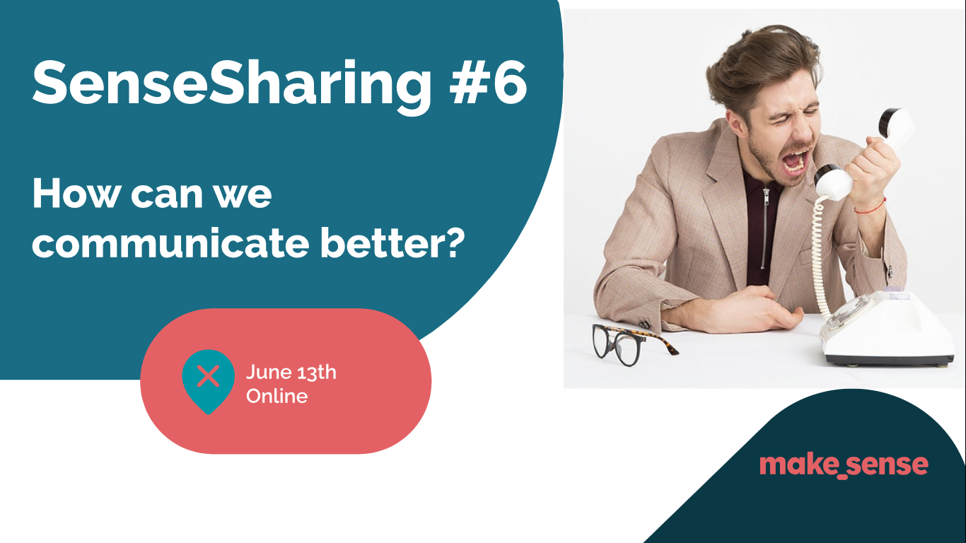 Image de l'événement : Sensesharing - How can we communicate better?