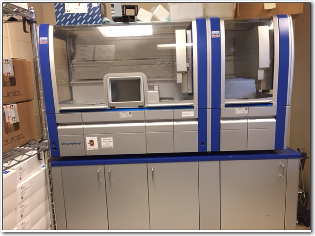 Qiagen QiaSymphony AS/SP Sample Prep Workstation