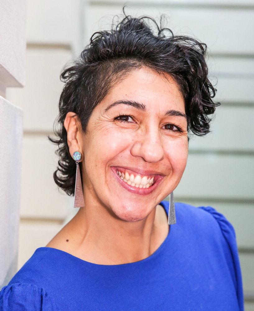 This is a photo of Angie, a Program Coordinator of the Stepping Stones Program