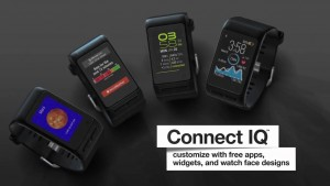 Garmin Vivoactive HR customisation options