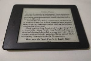Kindle Paperwhite 7th Generation has 300 ppi display