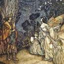 A Midsummer Night's Dream., Photo by Arthur Rackham Alamy Stock Photo