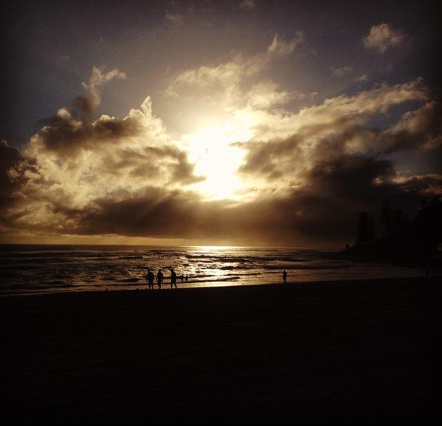 Picture of Burleigh Heads beach