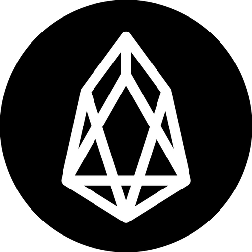 logo of featured expert reviews of cryptocurrency EOS