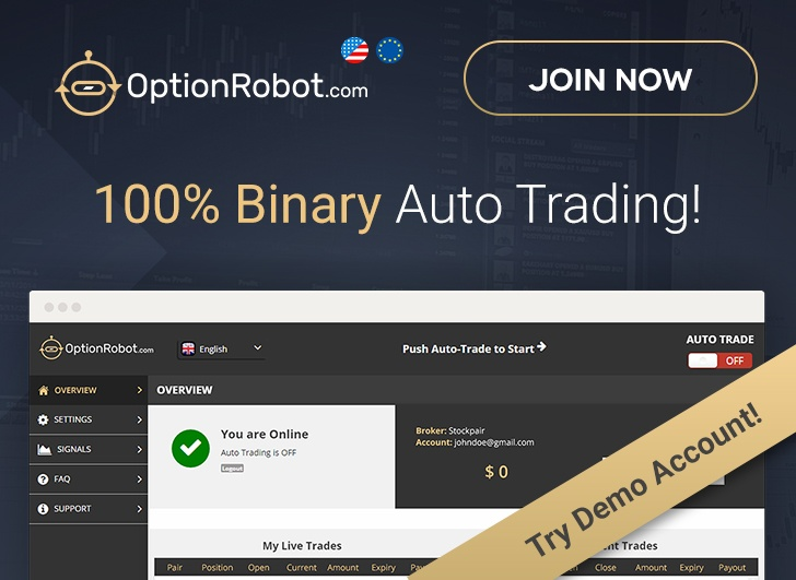 OptionRobot binary trading software