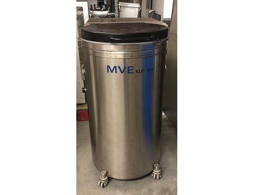MVE Cryogenics XLC 511-F-GB-BB Cryo Storage Tank