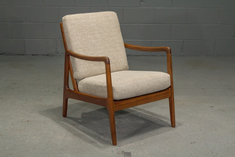 Danish Modern Teak Arm Chair by Ole Wanscher for France & Son