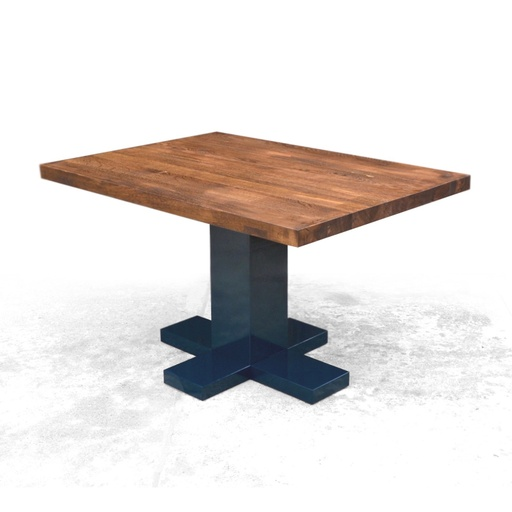 Rectangular table with one leg nuotrauka