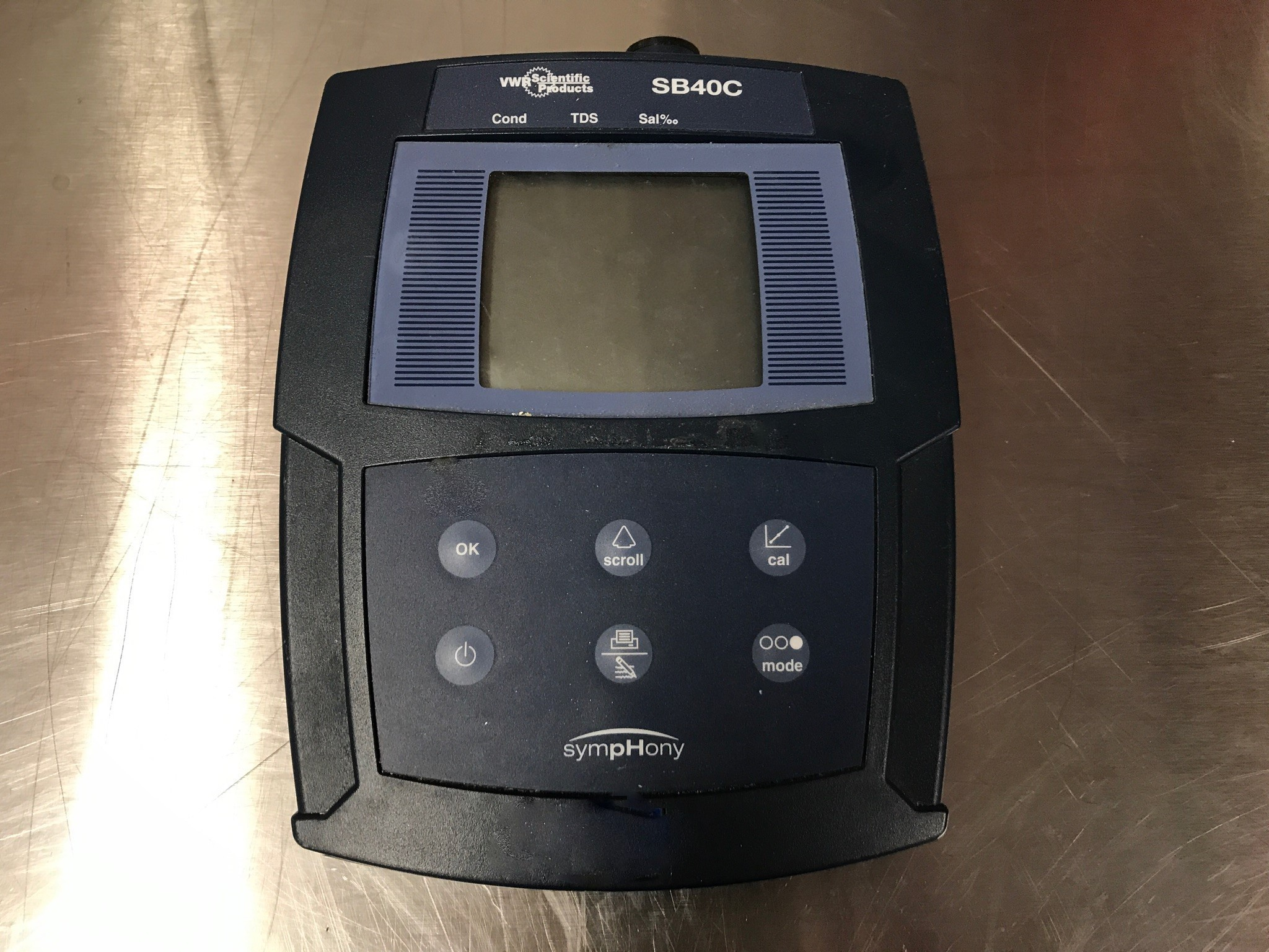Vwr Conductivity Meter : Vwr ph meter cambridge scientific