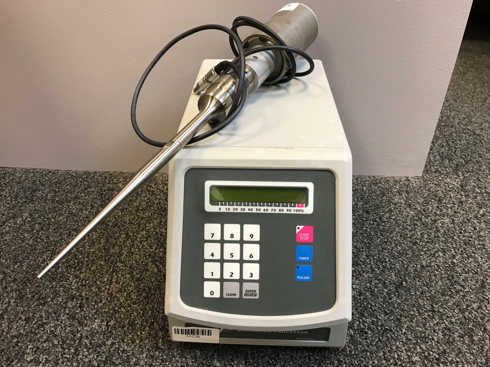 Cole Parmer CP 750 Sonicator
