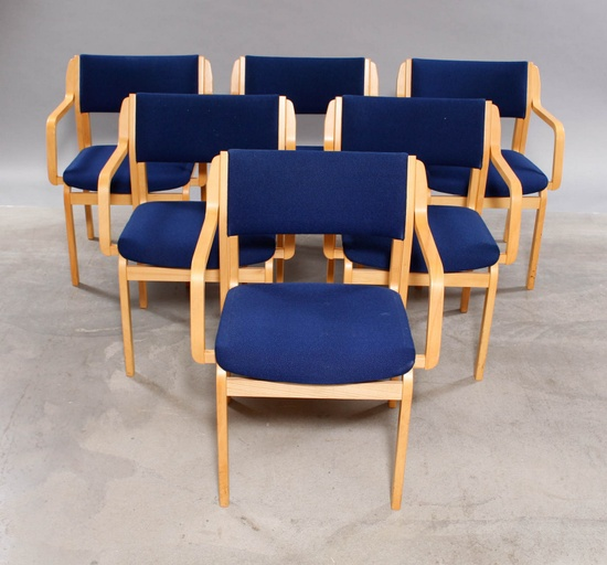 Set of 6 Chairs by Farstrup Furniture