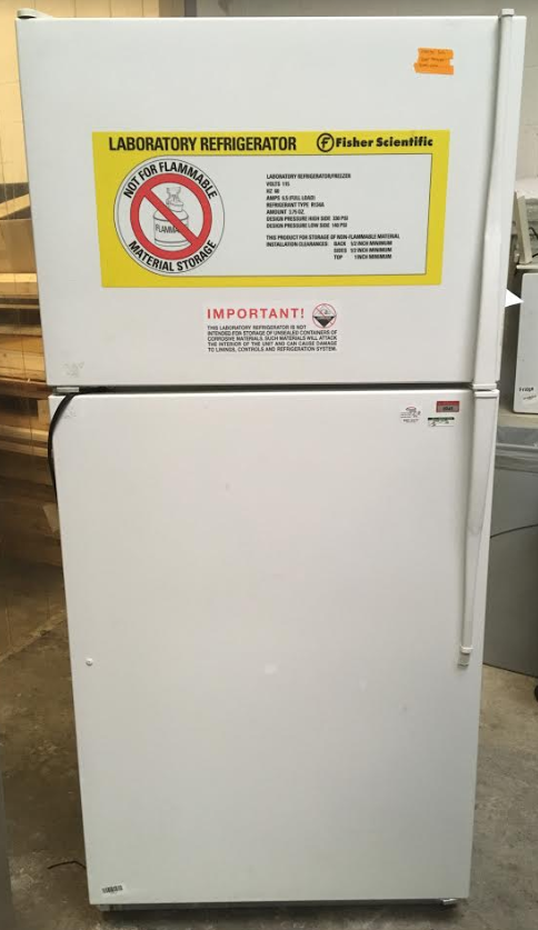 Fisher Scientific ET18NK Refrigerator/Freezer Combo