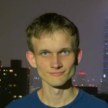 a photo of crypto expert reviewer Vitalik Buterin