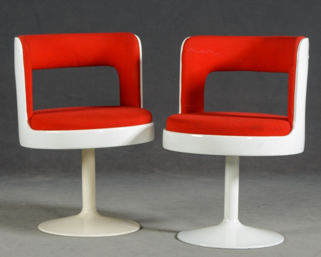 Two Finnish 1970s Easy Chairs