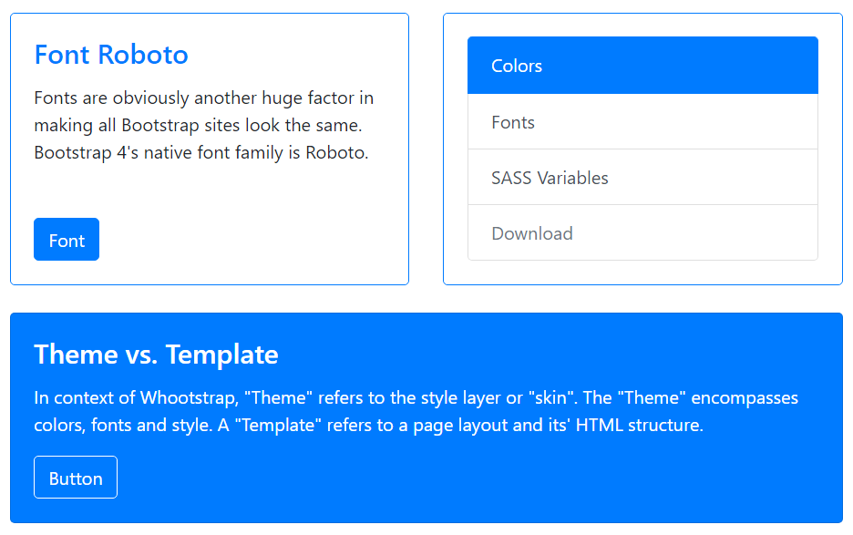 Bootstrap Pocket Guide - Bootstrap 4 Test Page